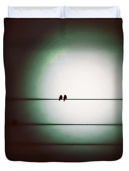 Into The Light - Instagram Photo Duvet Cover by Marianna Mills