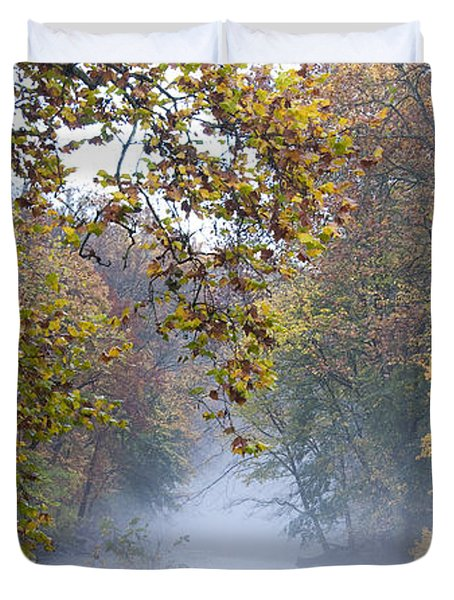 Into The Mist Duvet Cover by Bill Cannon