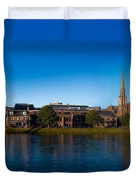 Inverness Waterfront Duvet Cover