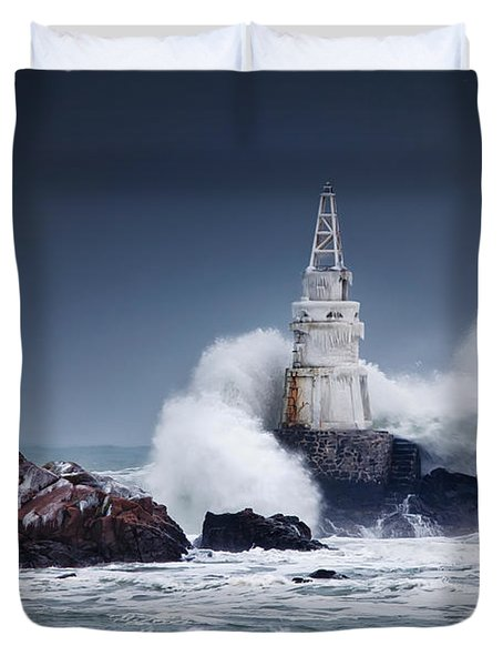 Invincible Duvet Cover by Evgeni Dinev