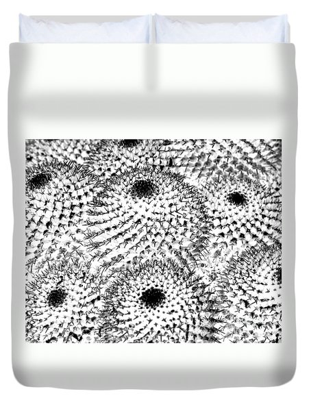 Duvet Cover featuring the photograph Invisible Cactus by Rebecca Margraf