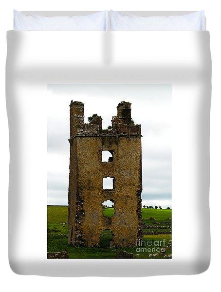 Ireland- Castle Ruins II Duvet Cover