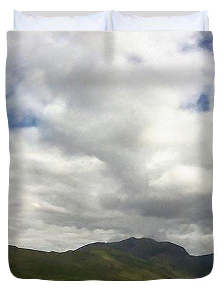 Ireland Panorama Duvet Cover