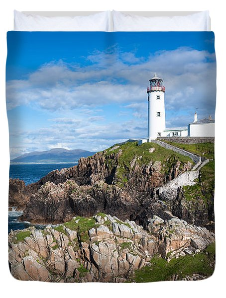 Irish Lighthouse Duvet Cover
