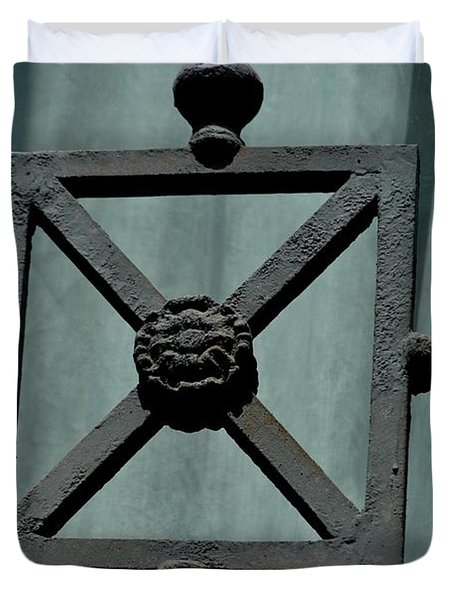 Iron Work Duvet Cover