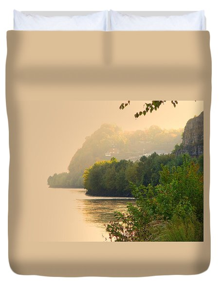 Islands In The Stream II Duvet Cover