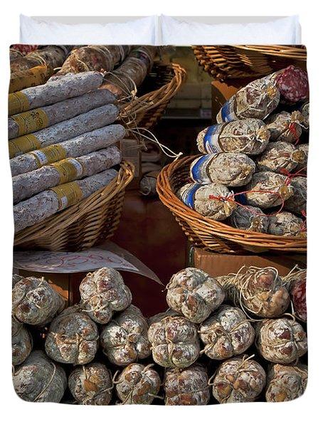 Italian Market Duvet Cover by Joana Kruse