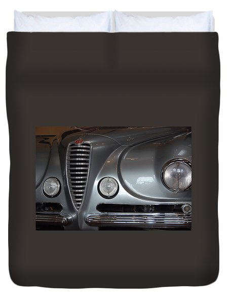 Duvet Cover featuring the photograph Italian Style by John Schneider