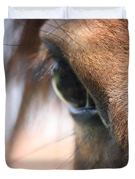 I've Got My Eye On You Duvet Cover by Donna G Smith