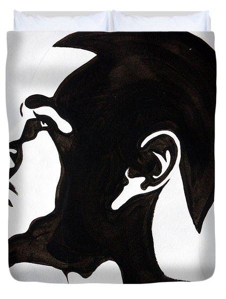 J. Cole Duvet Cover by Michael Ringwalt