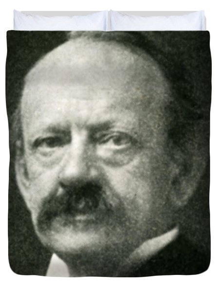 J. J. Thomson, English Physicist Duvet Cover by Science Source