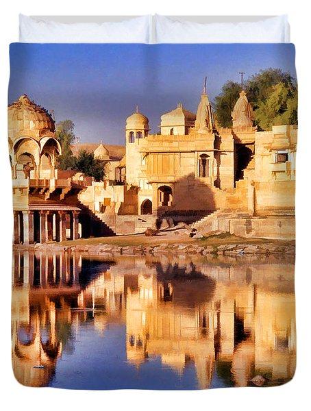 Jaisalmer Rajasthan Duvet Cover