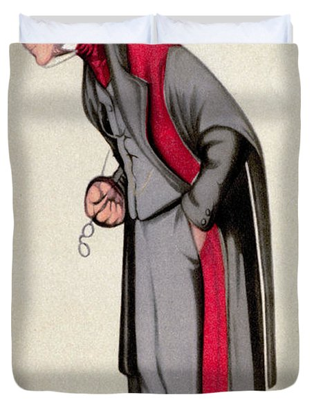 James Paget, English Surgeon Duvet Cover by Science Source
