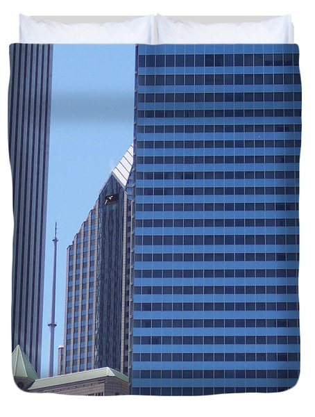 jammer Chicago 014 Duvet Cover by First Star Art