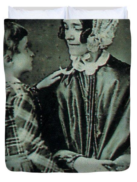 Jane Pierce Duvet Cover by Photo Researchers