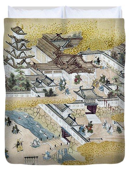 Japan: Castle, C1600 Duvet Cover