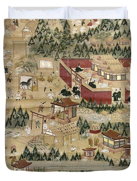 Japan: Shinto Shrine Duvet Cover