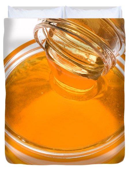 Jar Of Honey Duvet Cover