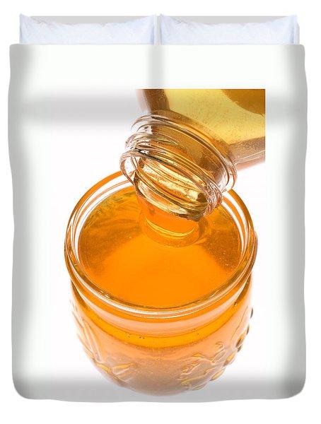 Jar Of Honey Duvet Cover by Garry Gay