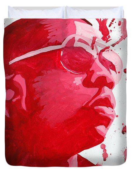 Jay-z Duvet Cover by Michael Ringwalt