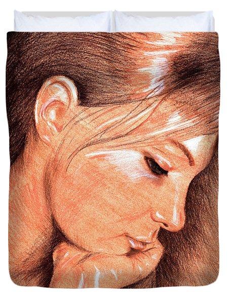 Jenny Duvet Cover by Hakon Soreide