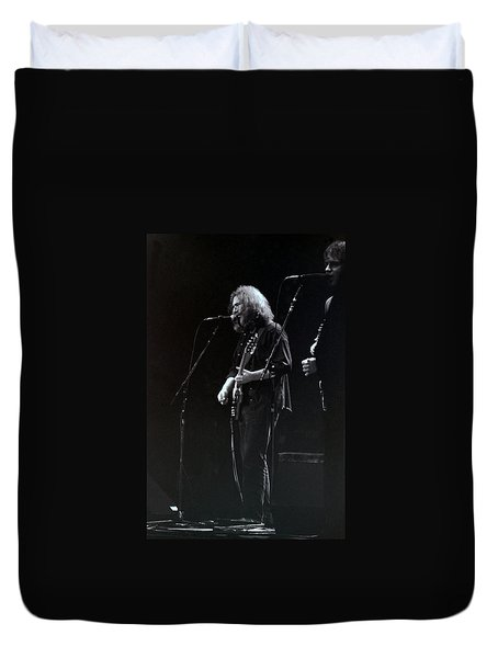 Duvet Cover featuring the photograph The Grateful Dead -  East Coast by Susan Carella
