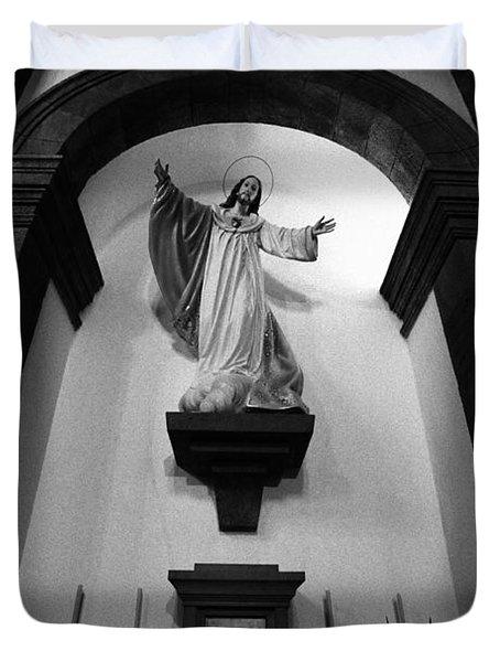 Jesus Christ Duvet Cover by Gaspar Avila