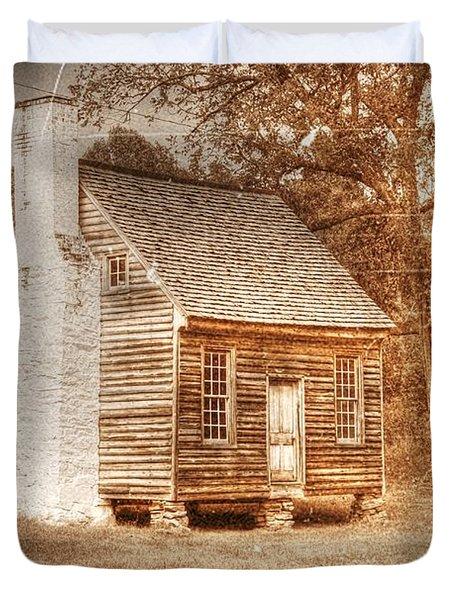 Joel Sweeney Cabin Duvet Cover by Dan Stone