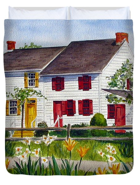 John Abbott House Duvet Cover by Clara Sue Beym
