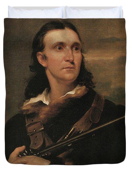 John James Audubon, French-american Duvet Cover by Photo Researchers