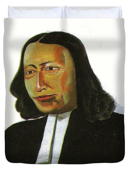 John Wesley Duvet Cover by Emmanuel Baliyanga