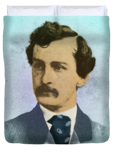 John Wilkes Booth, Assassin Duvet Cover by Photo Researchers