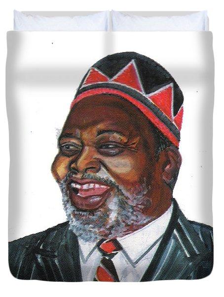Jomo Kenyatta Duvet Cover