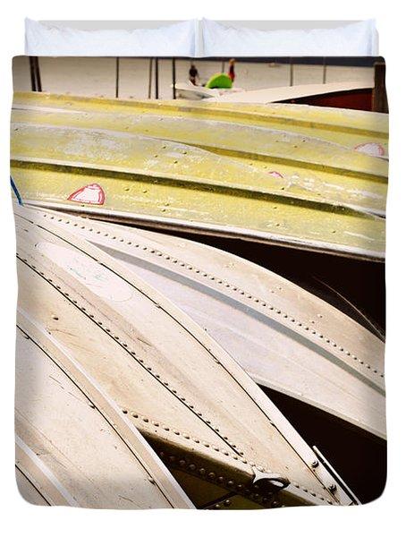 Jon Boats Duvet Cover