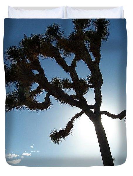 Joshua Tree Duvet Cover by Peter Mooyman