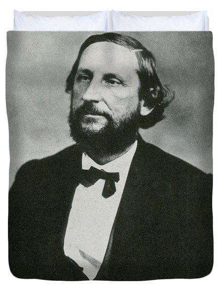 Judah P. Benjamin, Confederate Duvet Cover by Photo Researchers