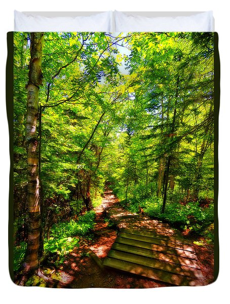 Judge C.r. Magney State Park Duvet Cover