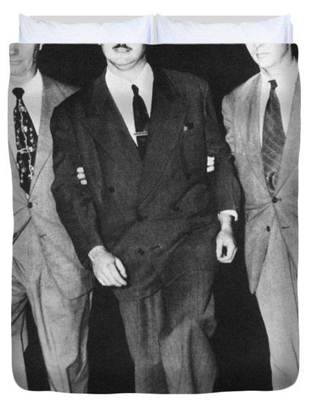 Julius Rosenberg Duvet Cover