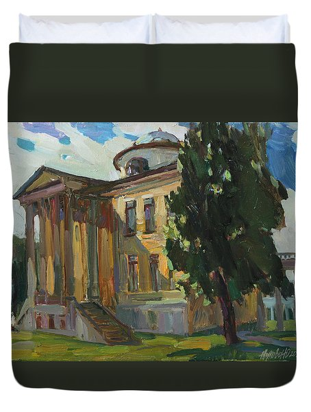 July Day In Russian Estate Duvet Cover