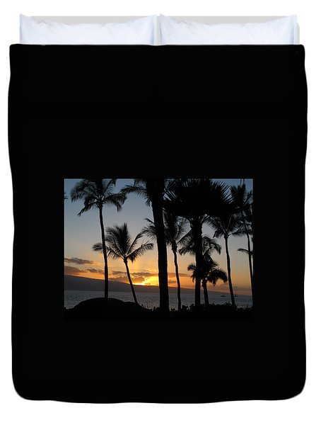 Ka'anapali Sunset Duvet Cover