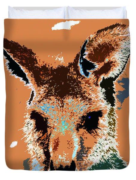 Kanga Roo Duvet Cover by David Lee Thompson