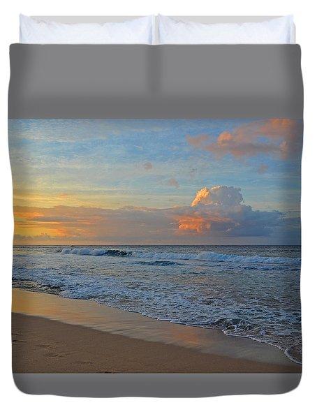 Kauai Morning Light Duvet Cover