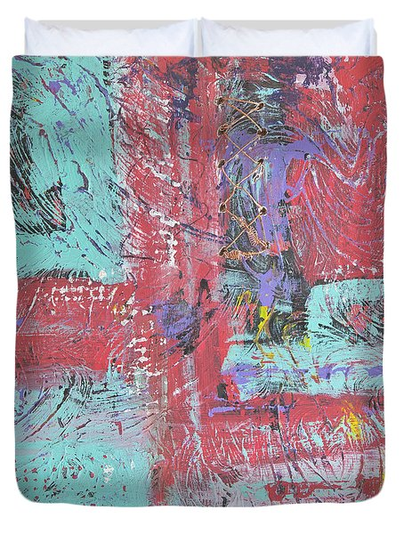 Keeping It Together Duvet Cover by Wayne Potrafka