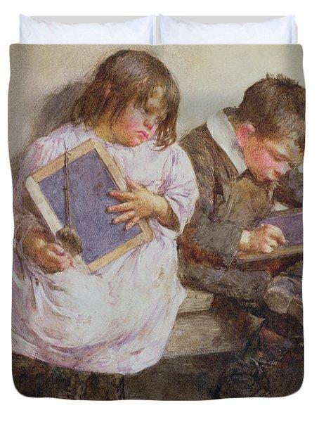 Kept In Duvet Cover by John Henry Henshall