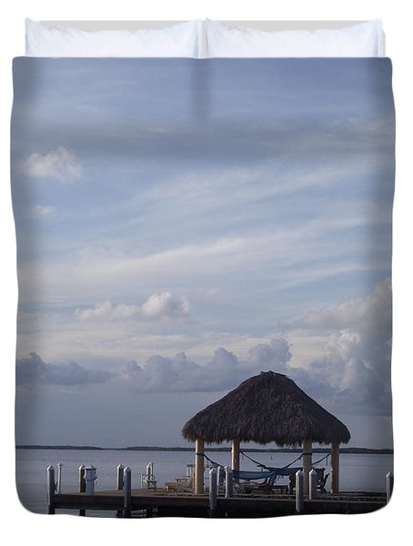 Key Largo Retreat Duvet Cover