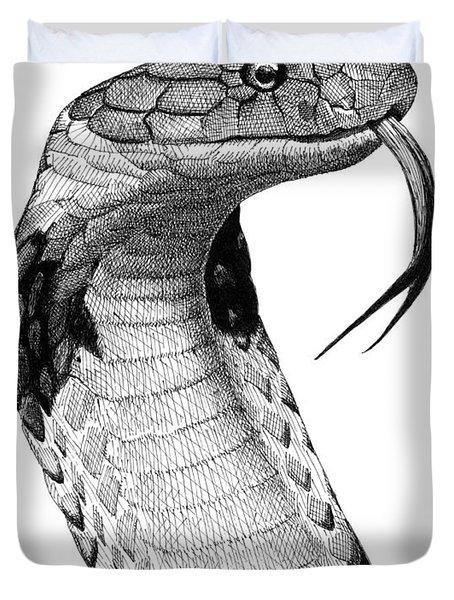 King Cobra Duvet Cover