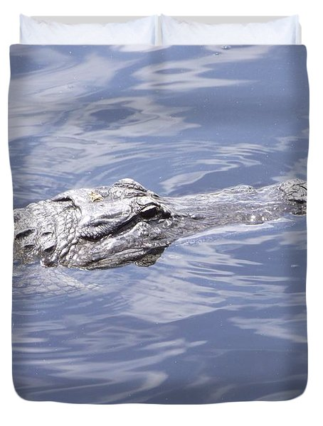 King Of The Everglades Duvet Cover