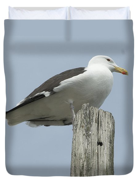 King Of Wickford Harbor Duvet Cover