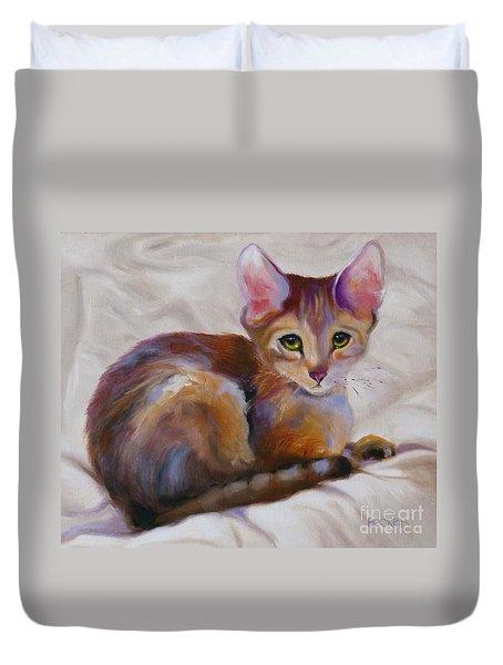 Kitten Princess Duvet Cover