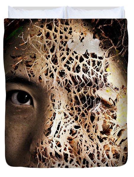 Knit Together Duvet Cover by Christopher Gaston
